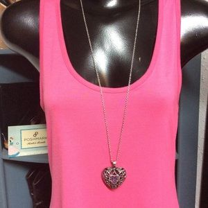 Paparazzi Necklace Puffed Heart